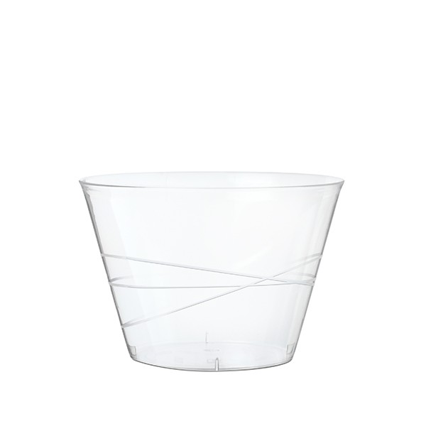 verrine design transparente 15 cl