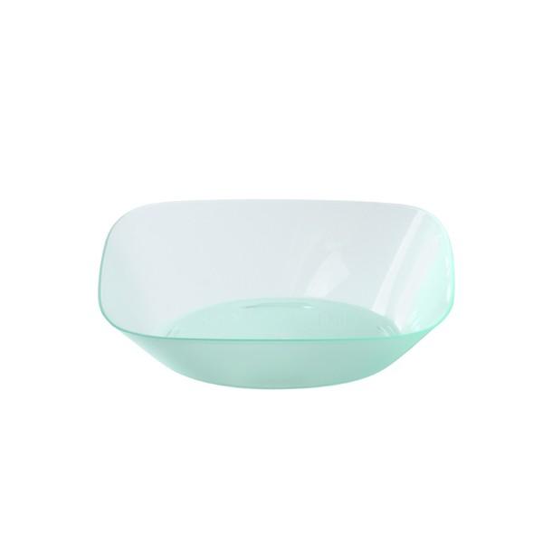 ramequin jetable transparent couleur vert d'eau