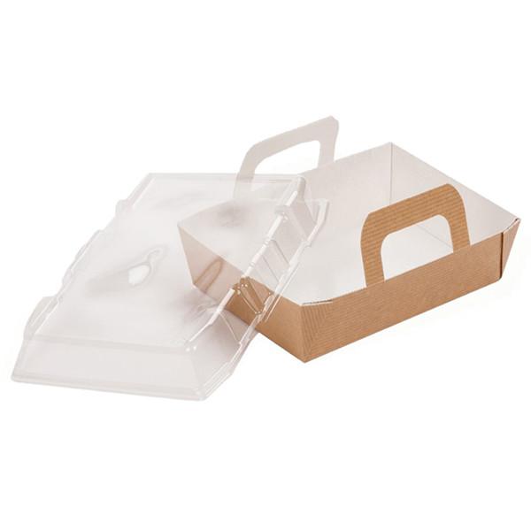 Barquette alimentaire carton panier 850 ml