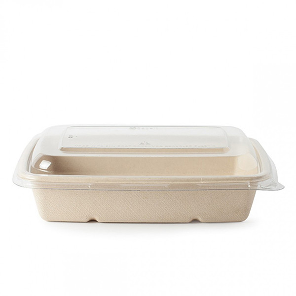 barquette alimentaire compostable 950 ml