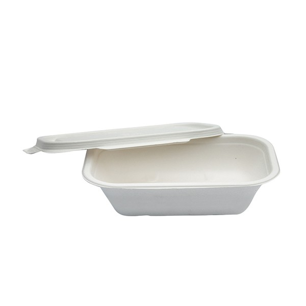 Barquette compostable pulpe de canne 50 cl
