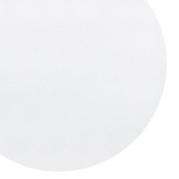 nappe blanche jetable ronde de belle qualité