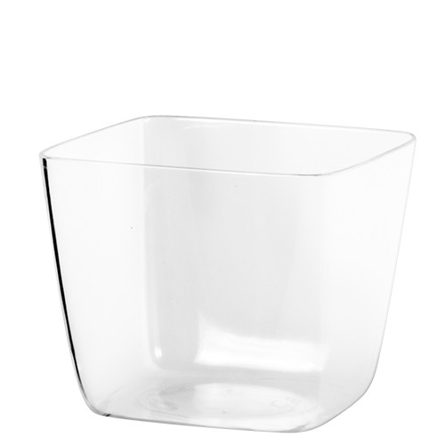 verrine jetable transparente en plastique 12 cl