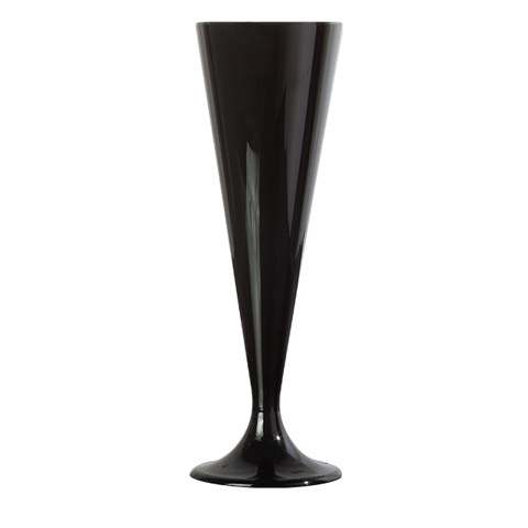flute-champagne-plastique-reutilisable-noire