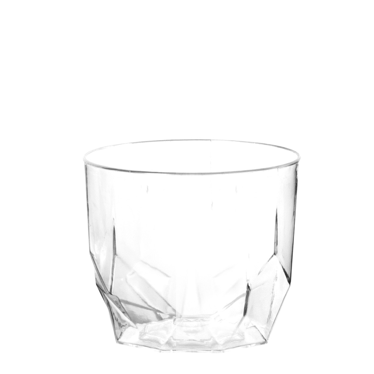 verrine jetable design transparente
