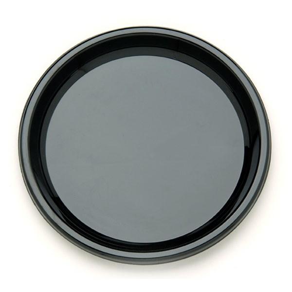 plateau noir jetable 40 cm