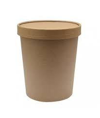 pot a soupe carton kraft brun 50 cl