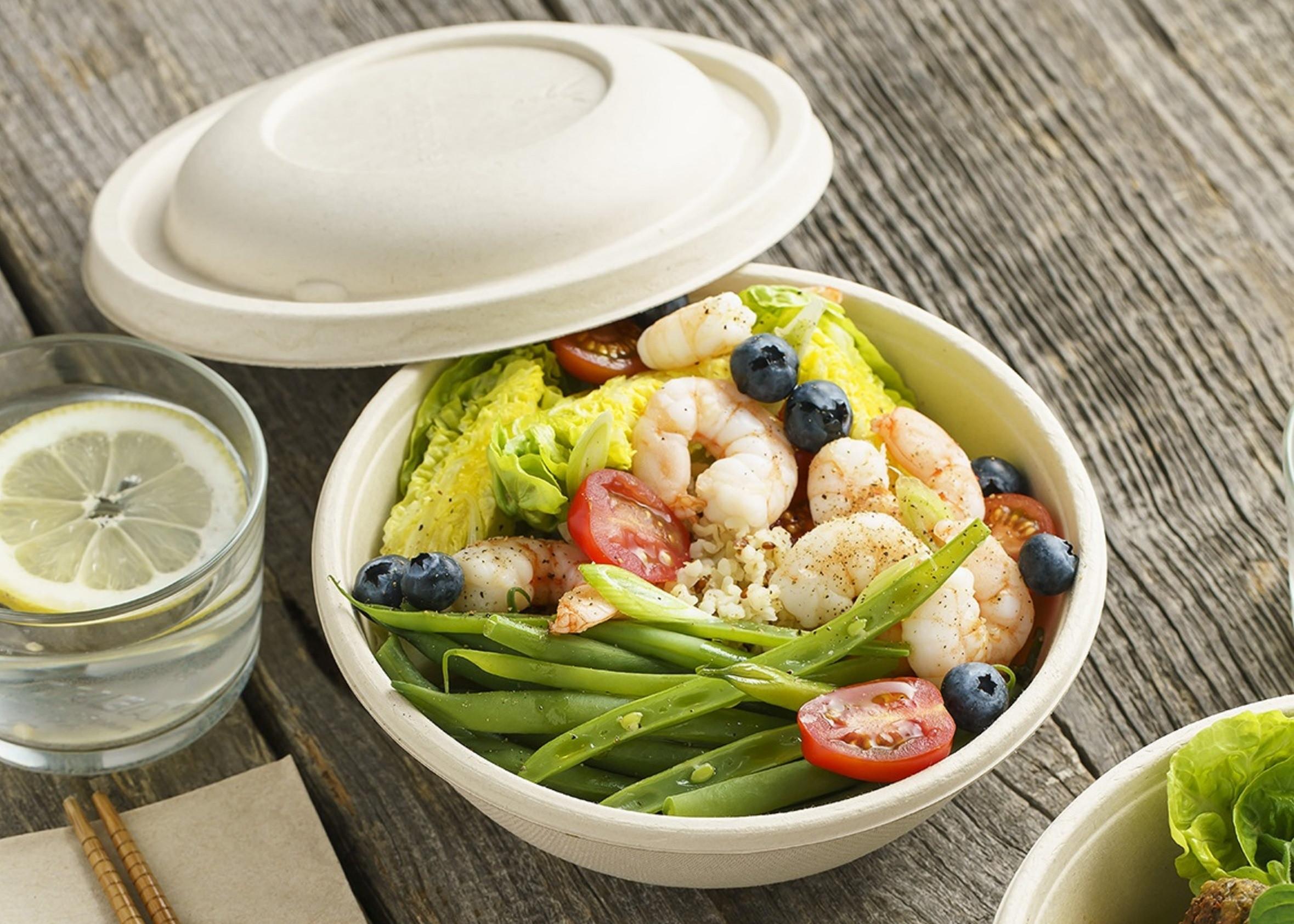saladier compostable 750 ml