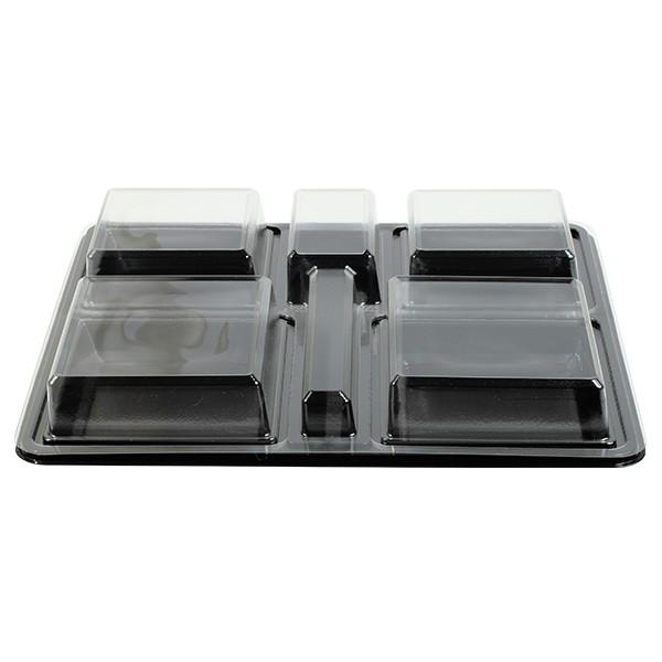 plateau repas compartiments