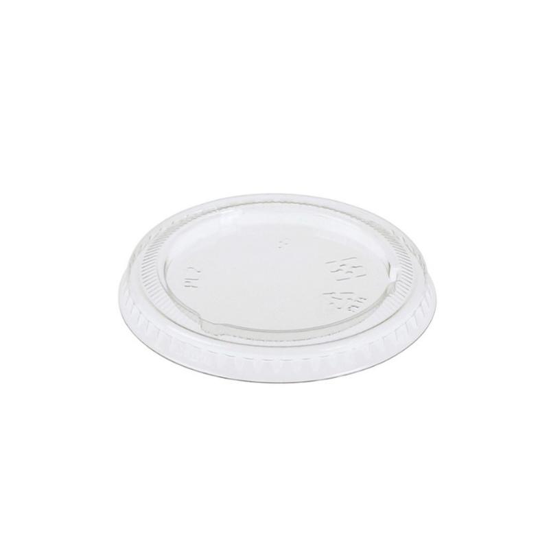 Couvercle PLA pour pot à sauce canne à sucre 3 cl et 6 cl
