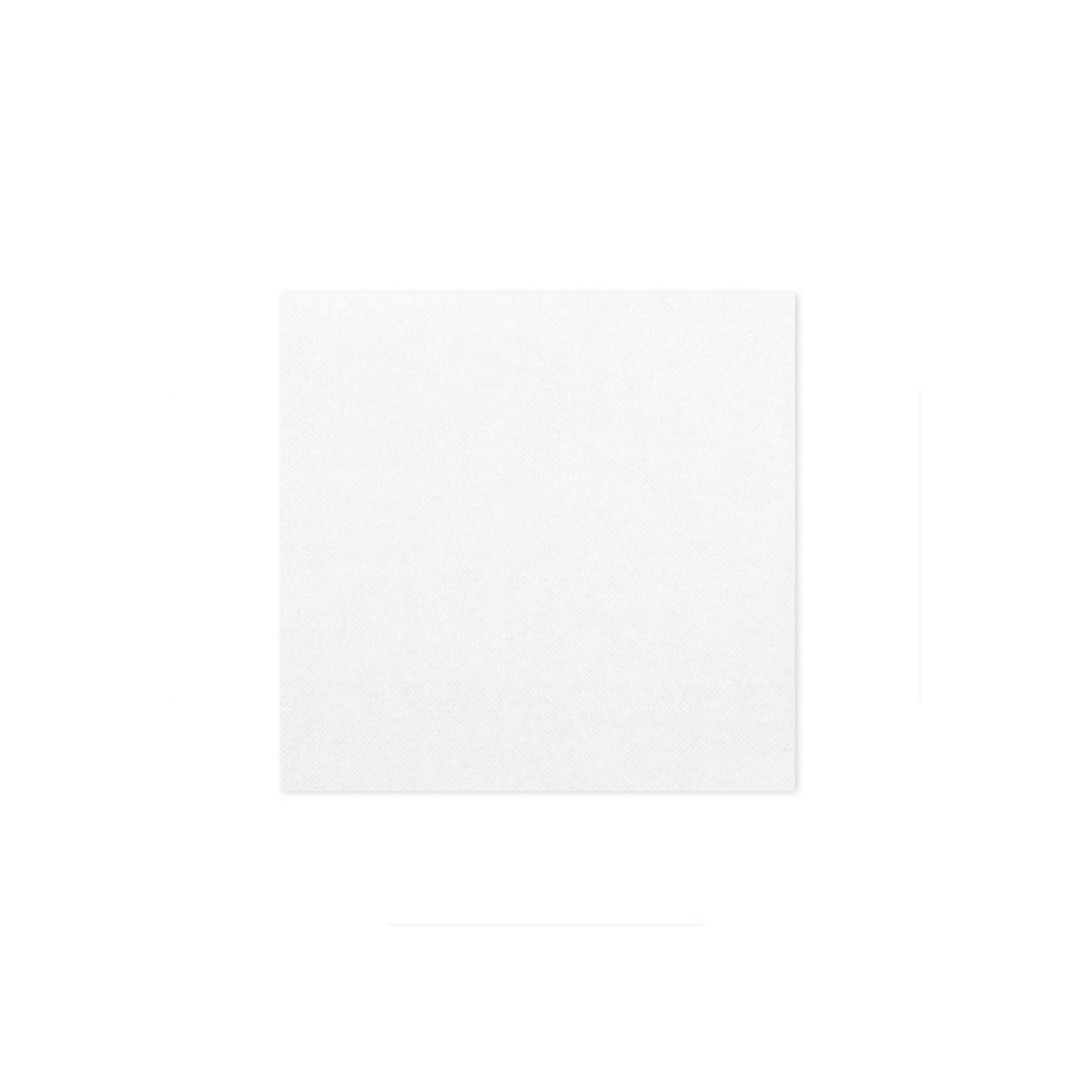 serviette jetable blanche 24 cm