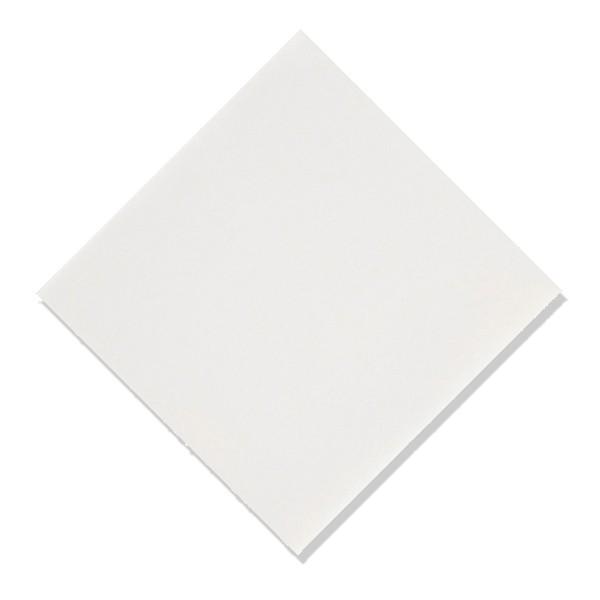 serviette intissée de qualité blanche