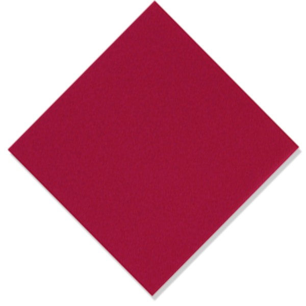 serviette intissée de qualité rouge bordeaux