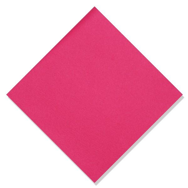 serviette intissée de qualité rose framboise