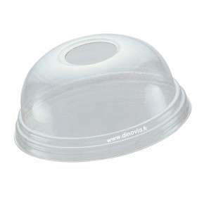 Couvercle dome avec trou pour POLARITY 30 cl