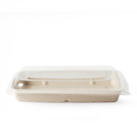 Barquette alimentaire compostable 600 ml