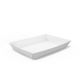 Barquette alimentaire carton blanche 800 ml