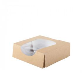 Boite carton alimentaire avec fenêtre S