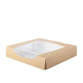 Boite carton alimentaire avec fenêtre XL