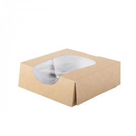 Boite carton alimentaire avec fenêtre XS