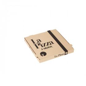 Boîte à pizza kraft brun 29x29 cm