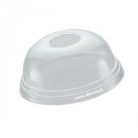Couvercle dôme avec trou pour gobelet smoothie POLARITY 30 cl