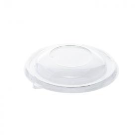 Couvercle rPET pour saladier pulpe poké bowl 375 ml