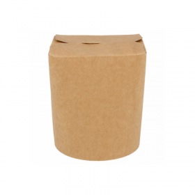 Pot à pâtes carton kraft 480 ml
