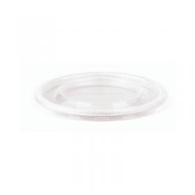 Couvercle PP micro-ondable pour pots alimentaires pulpe 375 et 500 ml